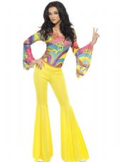 1970's Fever Groovy Babe Costume
